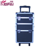 Good-Looking Elegant Aluminum Cosmetic Case With Wheels