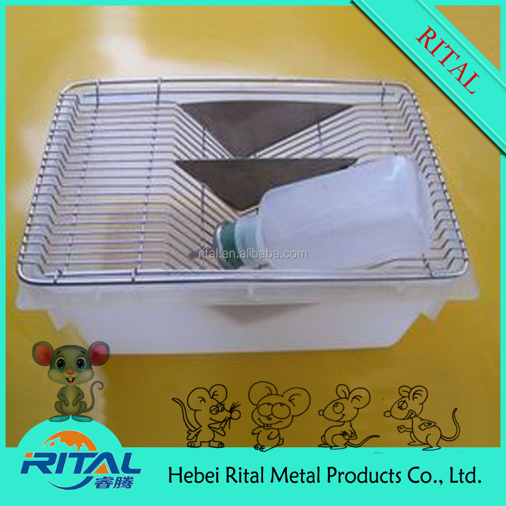 High quality mouse/golden ground feed cage
