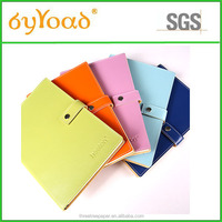 High Quality Leather Cover Notebook, Customized Notebook, Pu Notebook Factory price