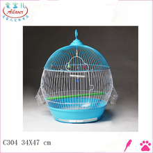 2016 new product iron metal bird breeding cage parrot cage