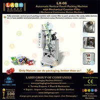 automatic sachet packing machine for candies and tablets