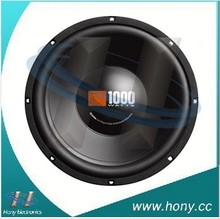 "China made competition car speaker 10"" 15"" 12"" subwoofer"