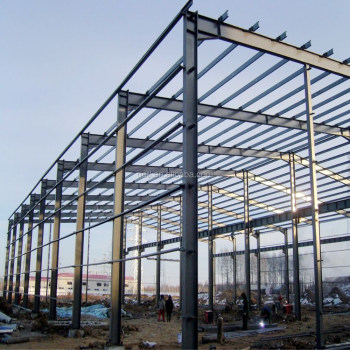 Steel Structural Gymnasium / steel truss construction