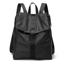 Custom made nylon backpack for young women and men