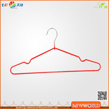 Newworld Wholesale Hanger Metal Wire Shirt Clothes Hanger