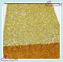 YHR#10 bright gold sequin banquet wedding wholesale table runner cloth overlay linens