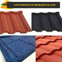 stone coated blue steel roof sheet malaysia clay roof tile for temple