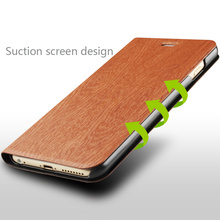 fancy pu leather comfortable feeling high end tree texture mobile phone case for iPhone 6/6s
