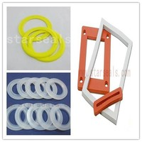 silicone rubber strip for galss container silicone gasket