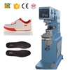 High quality pneumatic 1 color shoes logo tampo printing machine
