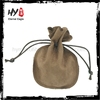 Hot selling suede jewellery pouch with silk printing logo,microfiber jewelry cleaning cloth,double drawstring jewellery pouch
