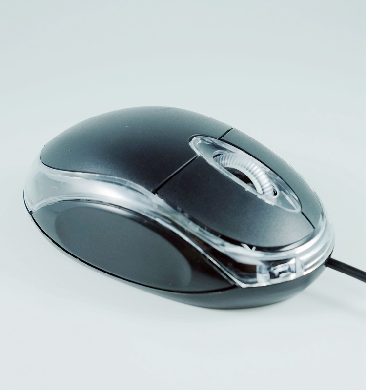 Free Sample Cheap Classical USB Wired Mini Optical Mouse WR-201 for Sony Dell HP Laptop