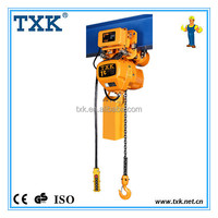 Alibaba China Supplier 1ton/1000kg electric mobile hoist crane, 1ton electric lift