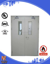 Commercial Doors Entry Door Double Steel Fire Rated Door
