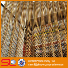 Decorative wire mesh fabric, metal drapery mesh, metal fabric curtain