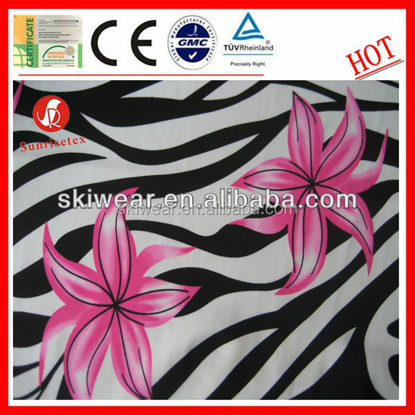 new design waterproof ripstop spandex fabric textile factory