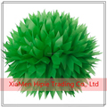 "14"" Kelly Green Tissue Paper Hanging Pom Poms for Christmas party Decorations"