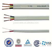 China Leading Supplier Flat TPS Cable under AS NZS Standard---twin & earth cable twin active wire AS/NZS 5000.2