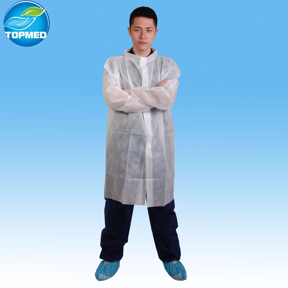 Hospital Use Non woven Material disposable laboratory coats wholesale for children