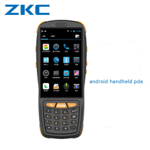 "Android quad core rugged 4.0"" mobile phone hf rfid reader handheld 1d 2d qr barcode scanner wireless pda"