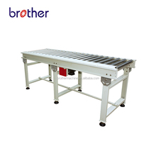 Brother motorized heavy duty chain driven Roller Conveyor with power