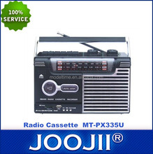 Portable Radio Cassette with earphone jack