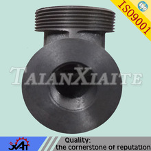 Valve body steel iron silicate sand casting made in China