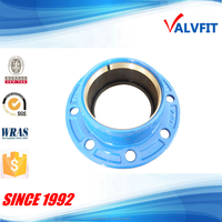 quick flange adaptor for uPVC/PE pipe