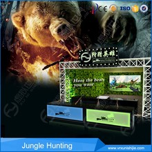 best selling kids and adults shooting hunting machine gun laser game with certificate