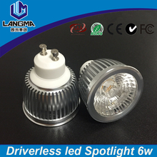4year warranty high quality driverless no driver driver-free ac cob gu10 led profile spot lights led ceiling lamp