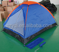 Single layer camping tent for 1~2 person