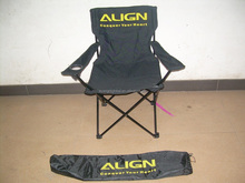 F330 Promotional folding 600D nylon beach chair with custom logo and carring bag