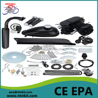 80cc bike motor kit /bicycle kit gasoline /gas powered bicycles 2 cycle for sale