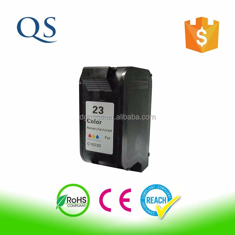 Compatible color inkjet cartridge for HP 1823 C1823A deskjet 710C 720c 810c printer ink cartridge