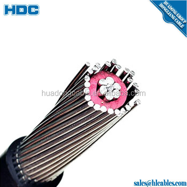 XLPE insulated ALMELEC cable SEU 2 conductor b are grounding wire PVC sheath 8awg price