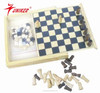 chess&checkers game type wooden chess&checkers game set 2 in 1 set