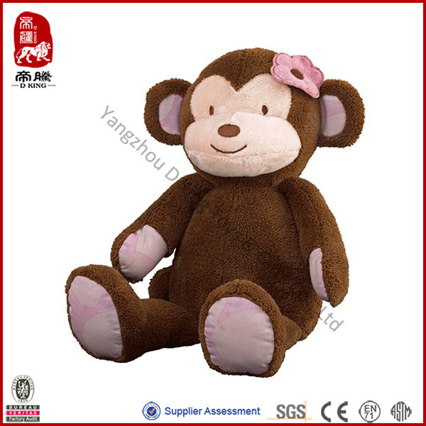 Wholesale Plush Monkey Soft Animal Stuffed Girl Plush Monkey