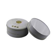 Round Wholesale Tea Tin Promotional Tin Can Coffee Tin Box
