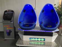 Commercial Game Machine Virtual Reality Electric 1/3 Seat 360 Degree Egg VR 9d 9d Cinema Simulator
