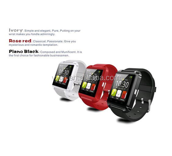 (Factory) 2016 Hot Healthy Life 1.44 inch U8 Smart Watch, Smart Wrist Bluetooth Watch U8 For Android iPhone Smart Watch U8