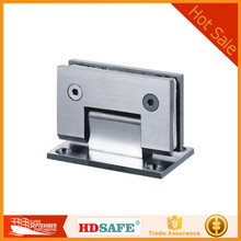 High quality grade SS304/316 stainless steel wall to glass hinge, shower door hinge