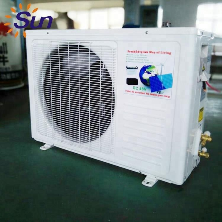 Cooling Heating Dc 48V Solar System <strong>Ac</strong> 9000 Btu Air Conditioner