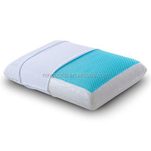 Sleep Reversible Memory Foam Gel Pillow for Sleeping Cool, Standard Size