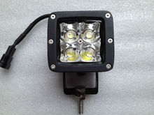 "New Arrival 3"" 12W 12V 24V LED Driving Spot Work light Tractor Truck SUV ATV Jeep Car 4WD Boat Offroad Van White"