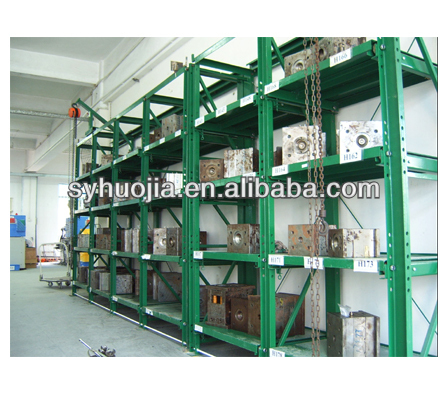 High efficiency and flexible storehouse drawer type mould racks