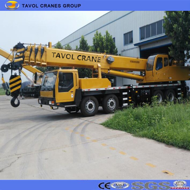 China Best Material Lift Equipment Truck Crane 50T Model with Cheap Price