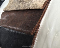 High Quality Hot Selling Bronzing Suede Fabric Supplier microfiber suede leather