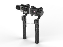 Guangzhou supplier 3 axis brushless handheld action camera gyroscope gimbal stabilizer for action camera