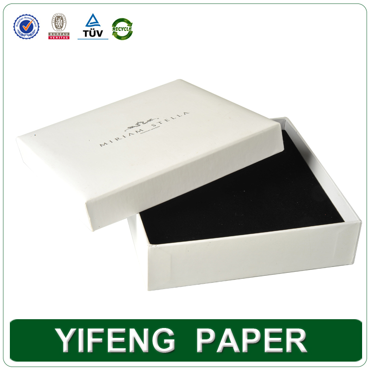 2016 Yifeng Paper luxury hand made MDF leather jewellry box