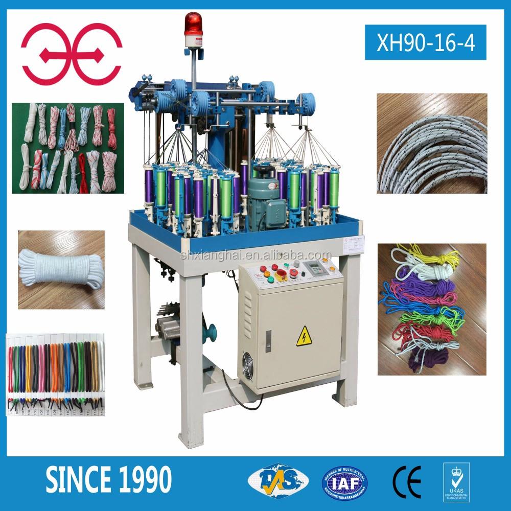 Knitting Rope Machine : High speed rope knitting machine cord making